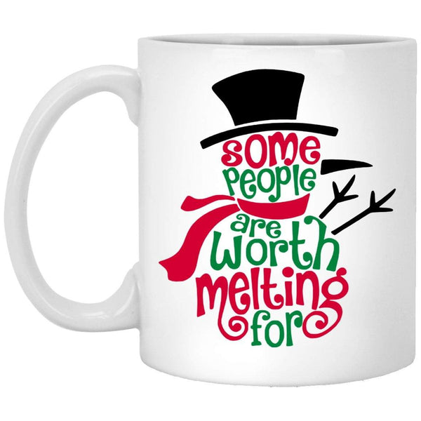 WORTH MELTING FOR Christmas Coffee Mug