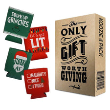 Christmas Koozie 4 Pack