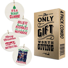 Christmas Vacation Ornaments 4 Pack