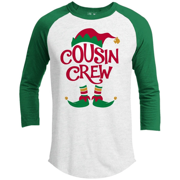 Cousin Crew Premium Group Christmas Raglan