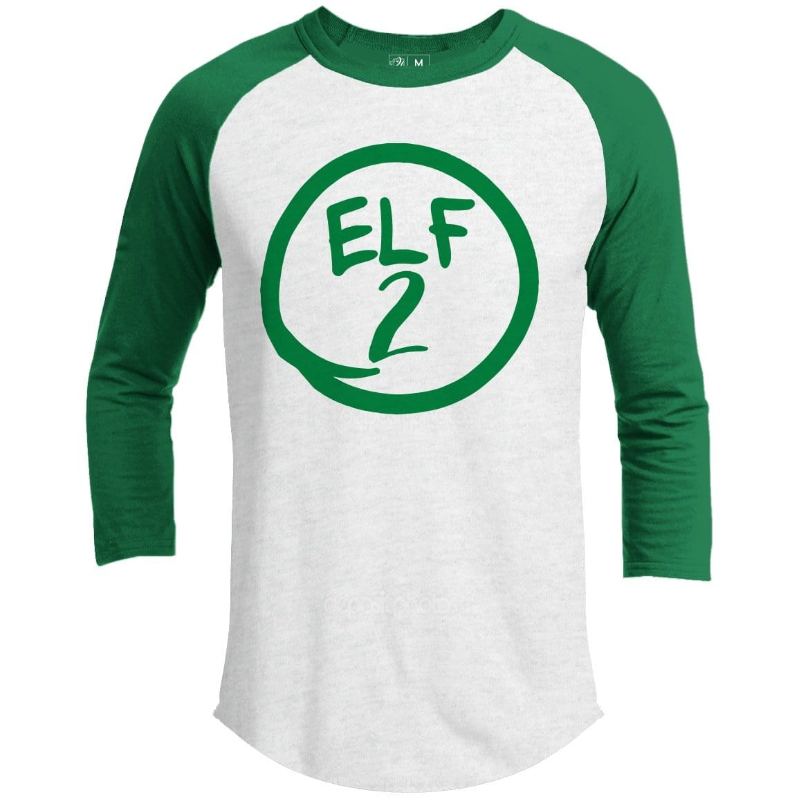 Elf 2 Premium Group Christmas Raglan