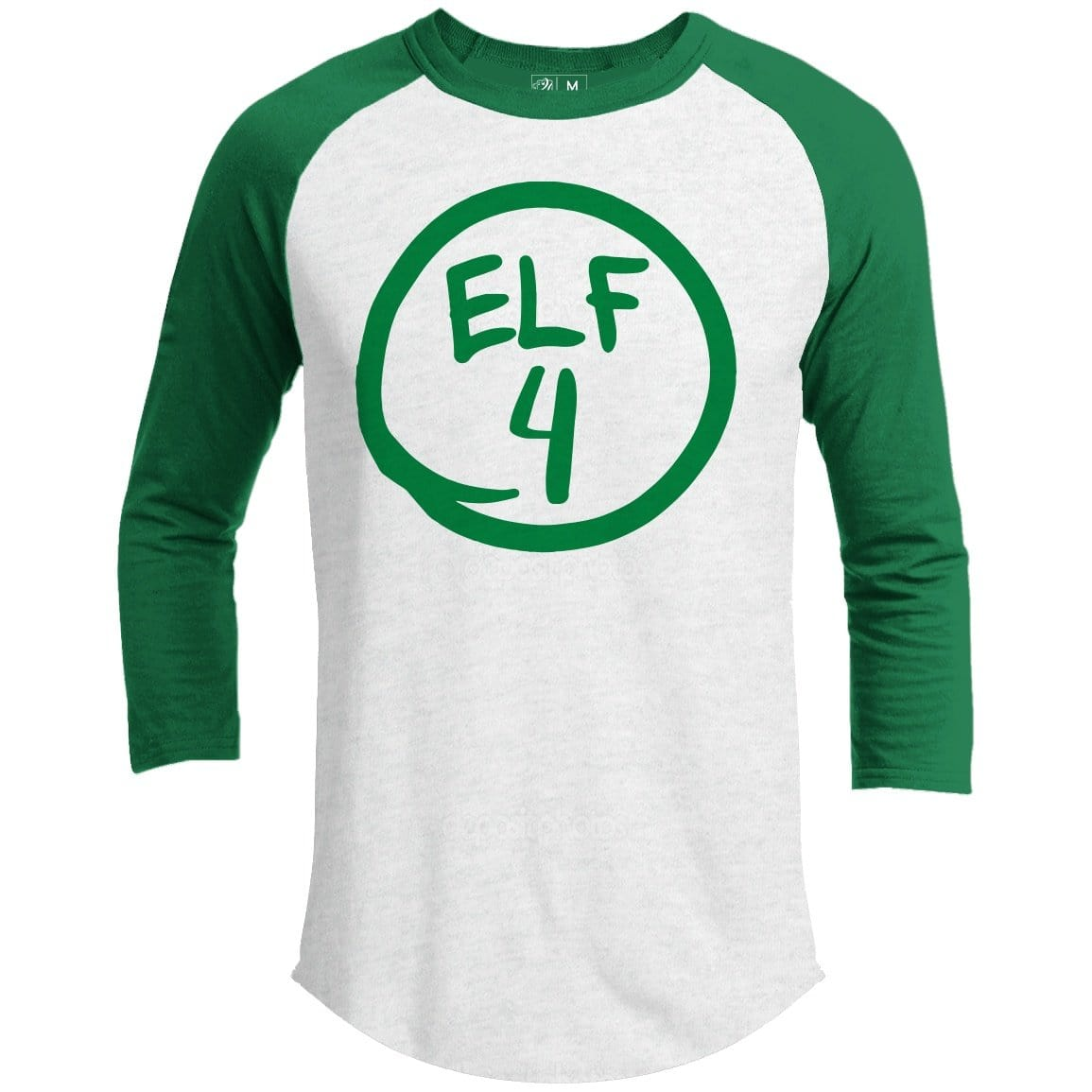 Elf 4 Premium Group Christmas Raglan