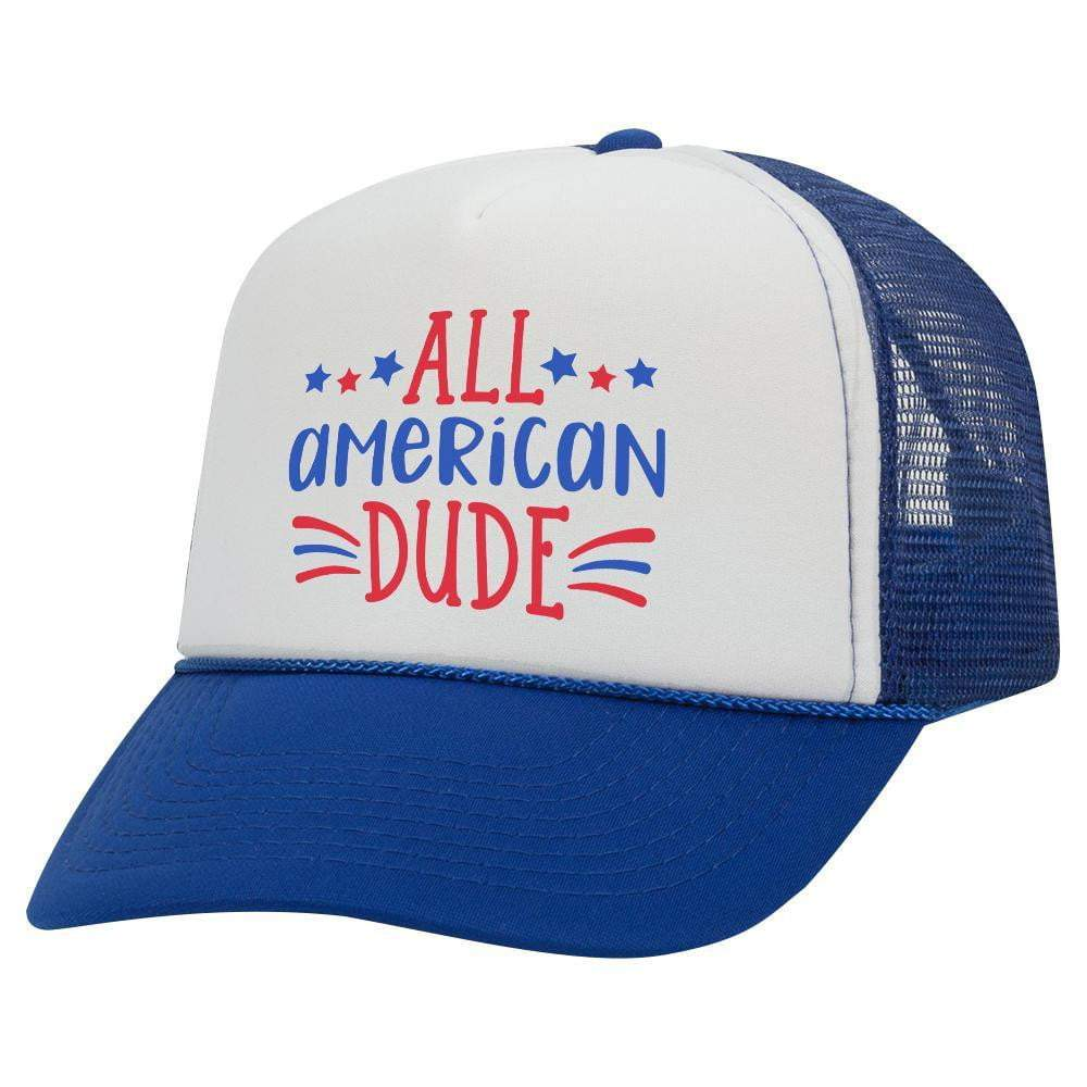 All American Dude Youth Trucker Hat