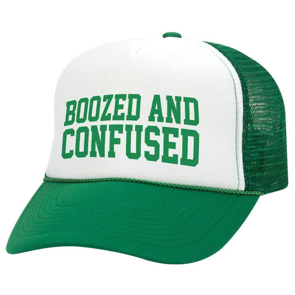 Boozed And Confused St. Patrick's Day Trucker Hat