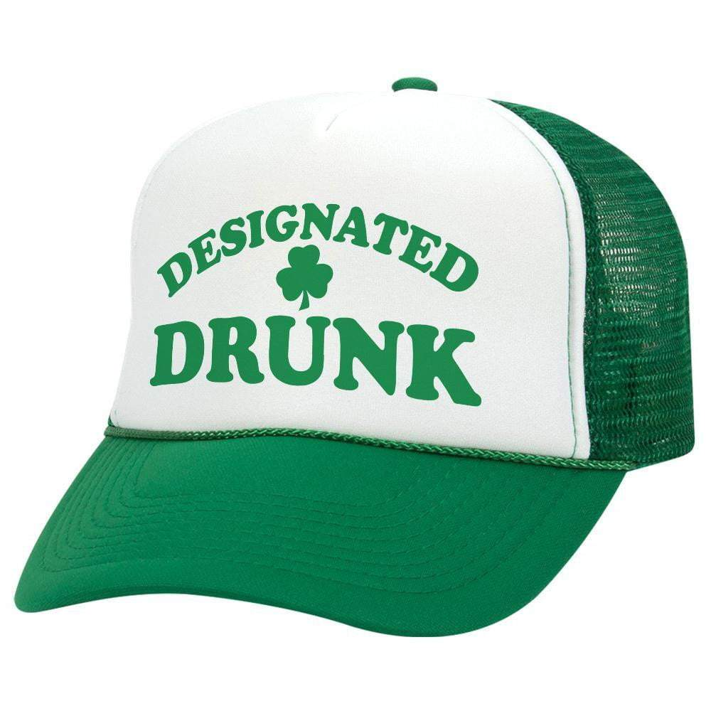 Designated Drunk St. Patrick's Day Trucker Hat