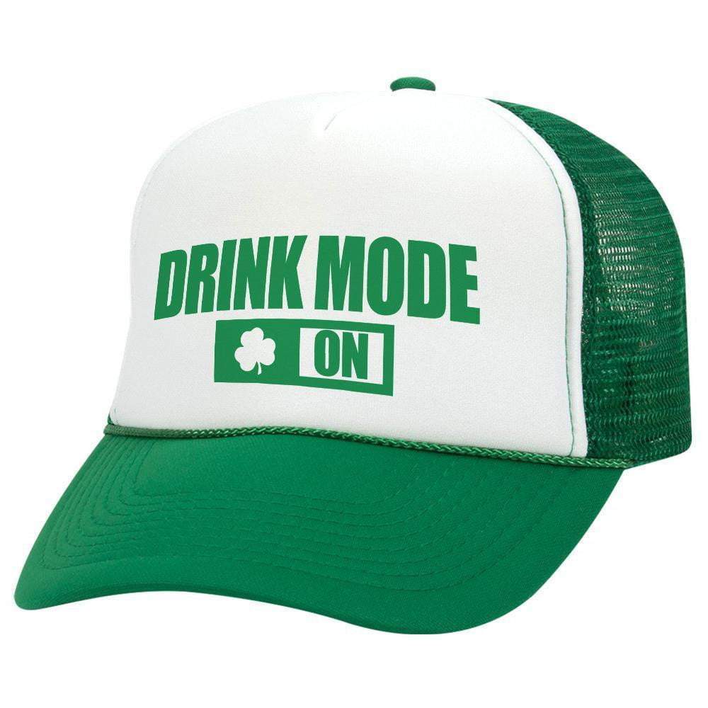 Drink Mode On St. Patrick's Day Trucker Hat