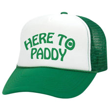 Hat - Here To Paddy St. Patrick's Day Trucker Hat
