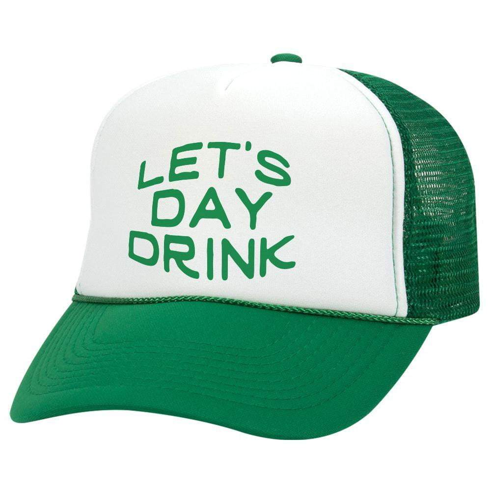 Let's Day Drink St. Patrick's Day Trucker Hat