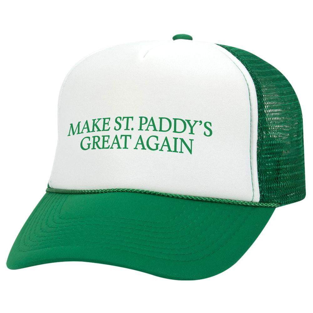 Make St. Paddy's Great Again St. Patrick's Day Trucker Hat