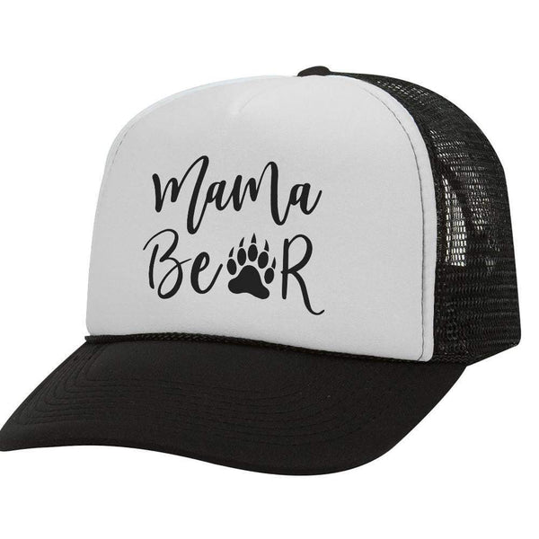 Mama Bear BW Trucker Hat