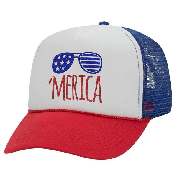 MERICA SHADE TRUCKER HAT