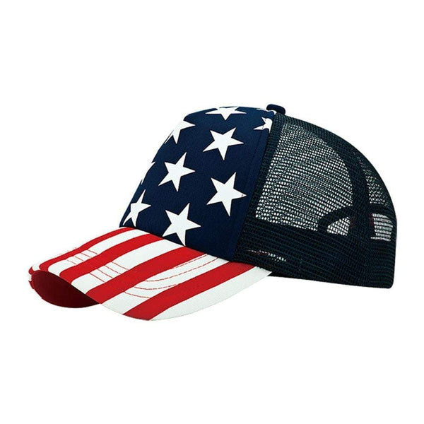 Stars Navy Trucker Hat