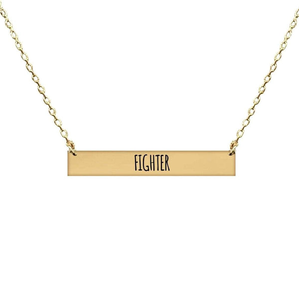 FIGHTER BAR NECKLACE