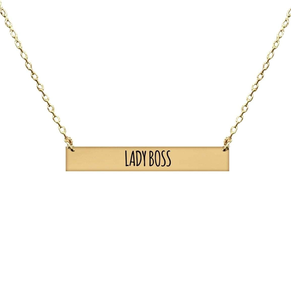 LADY BOSS BAR NECKLACE