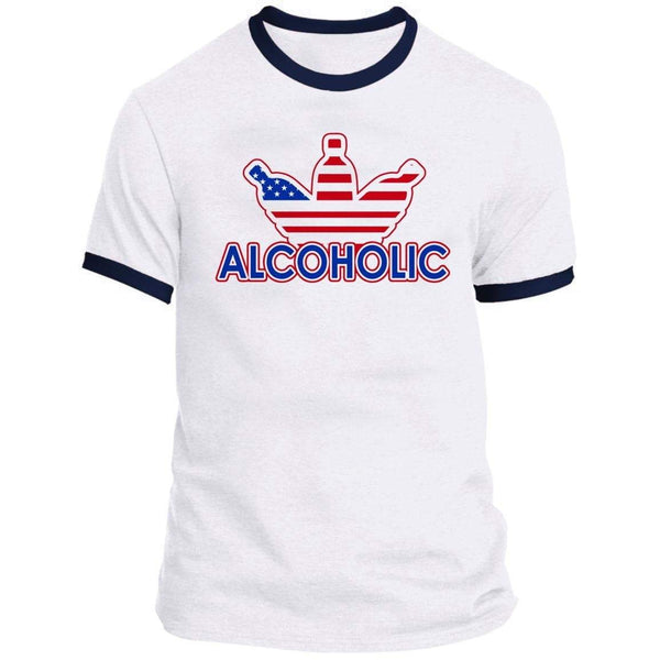 ALCOHOLIC Ringer Tee