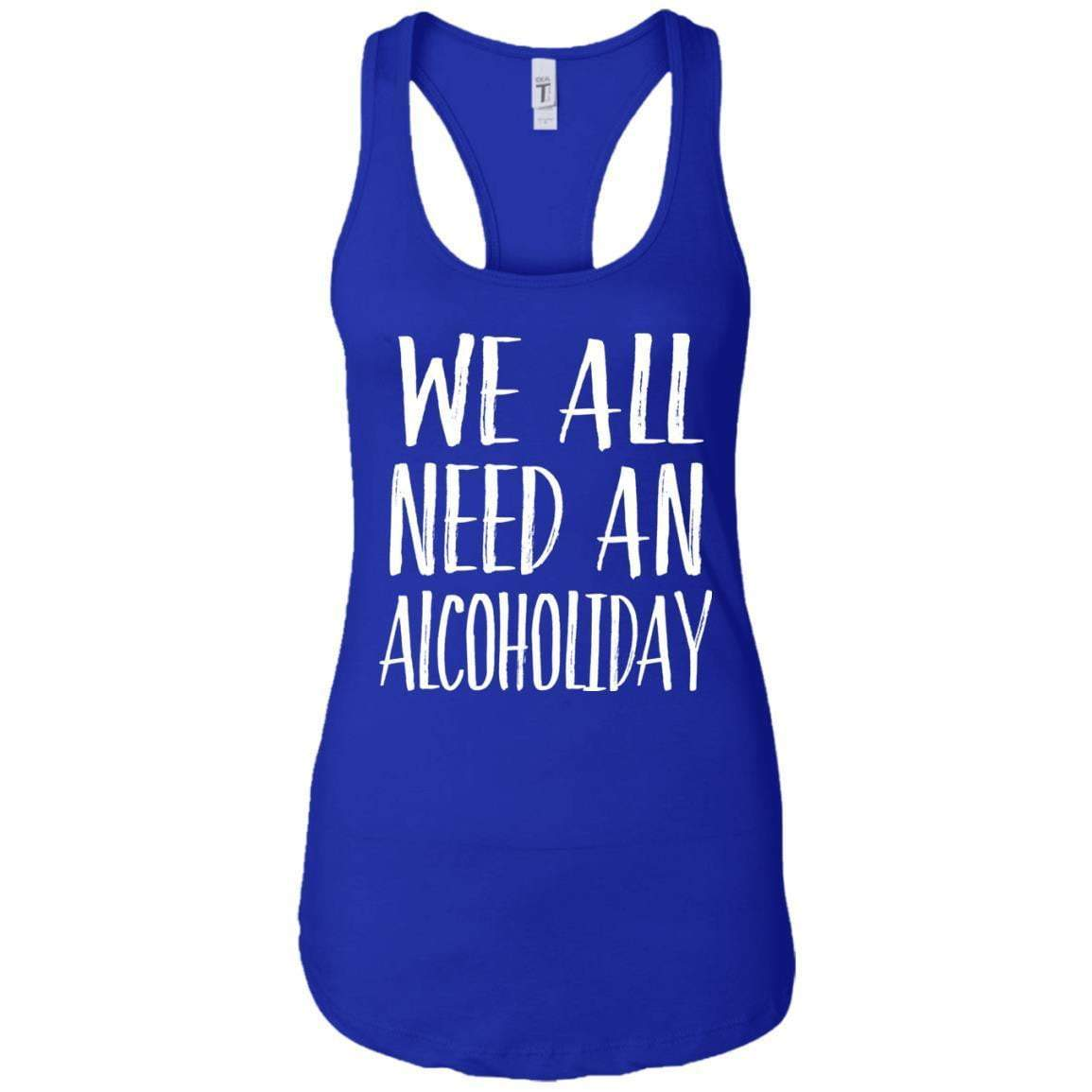 Alcoholiday Women's Racerback Tank