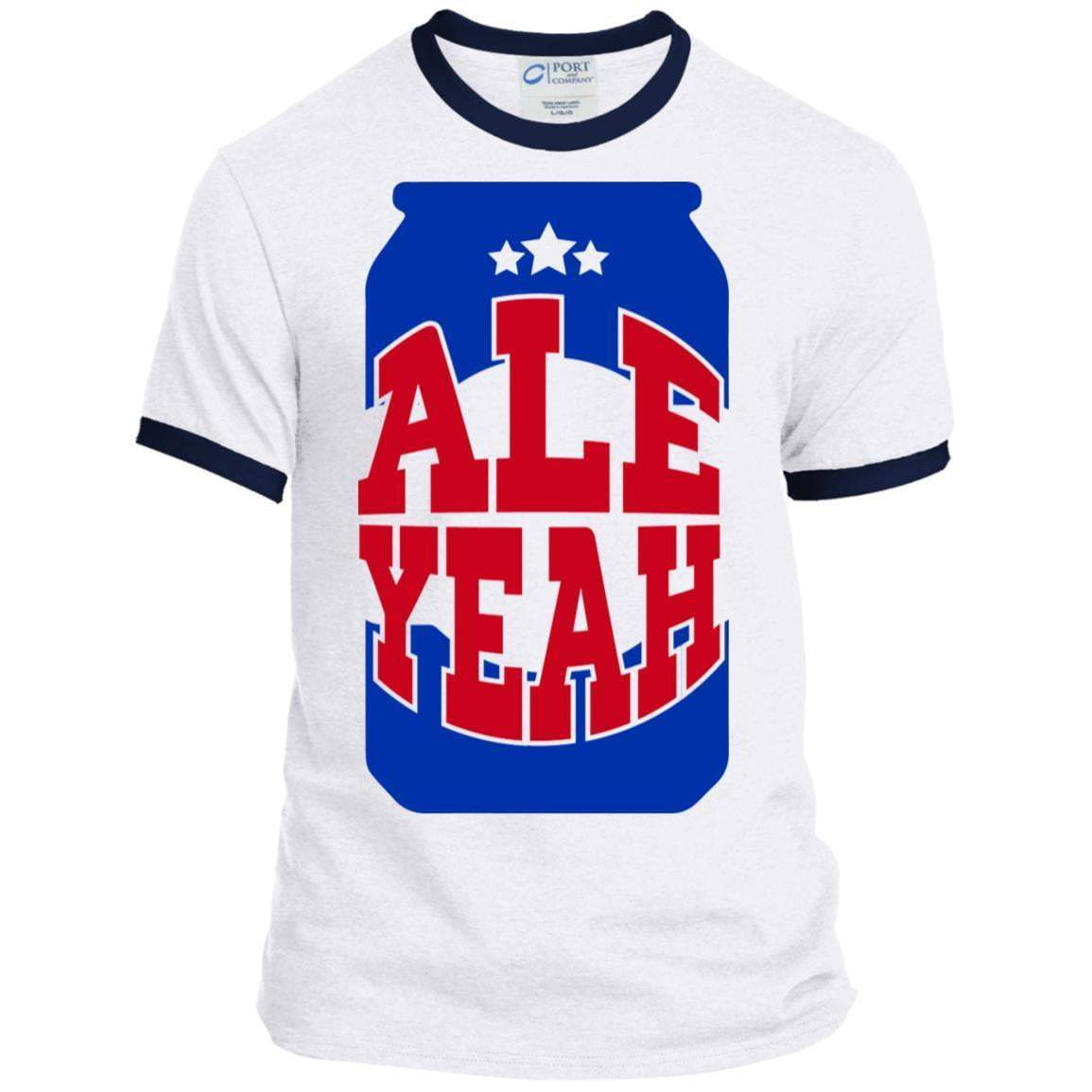 ALL YEAH CAN 4th of July Ringer T