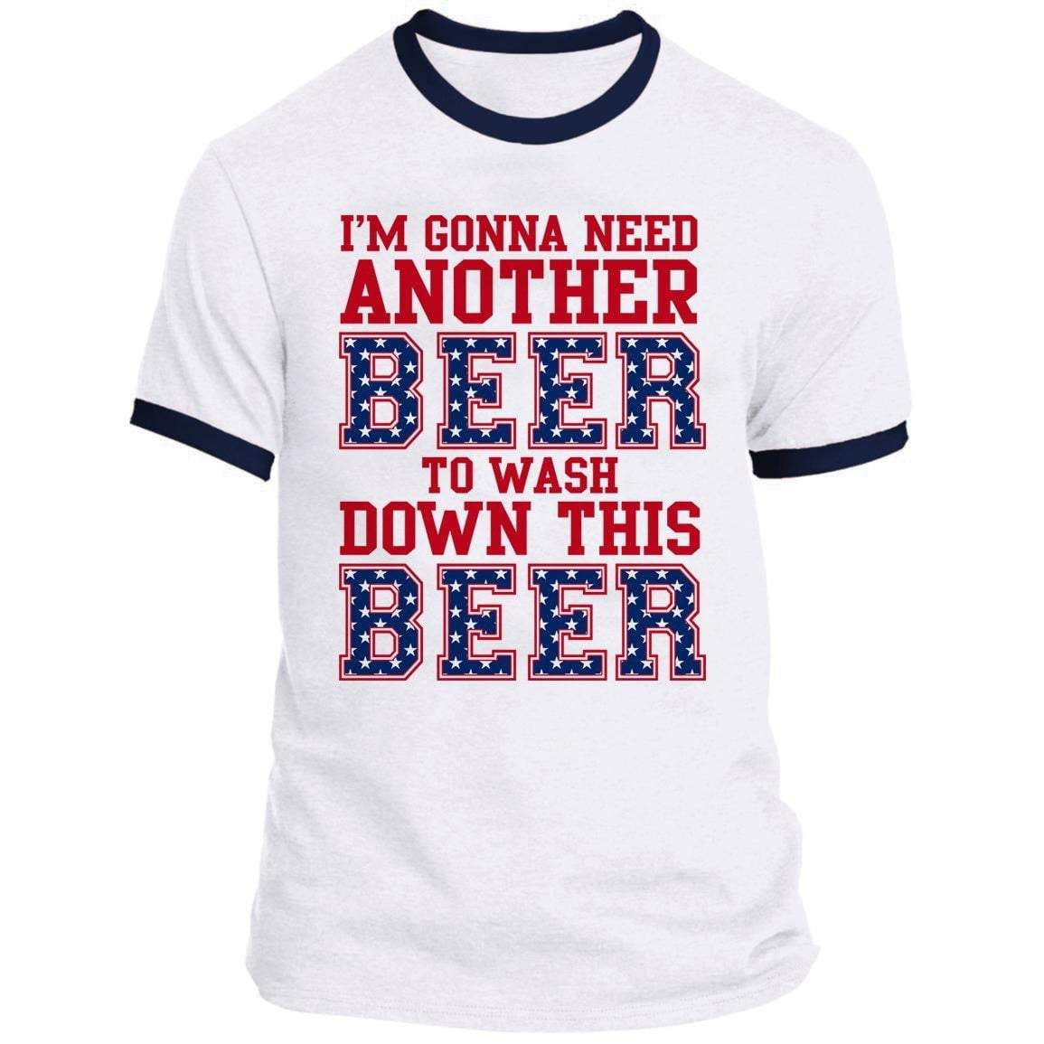 Another Beer Ringer Tee