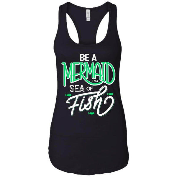 BE A MERMAID WOMEN'S RACERBACK TANK