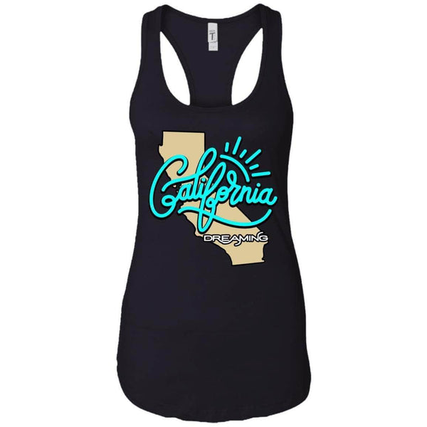 CALIFORNIA DREAMING WOMEN'S RACERBACK TANK