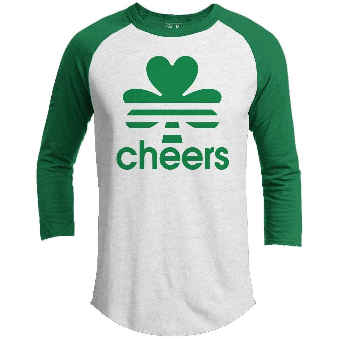Cheers St. Patrick's Day Raglan