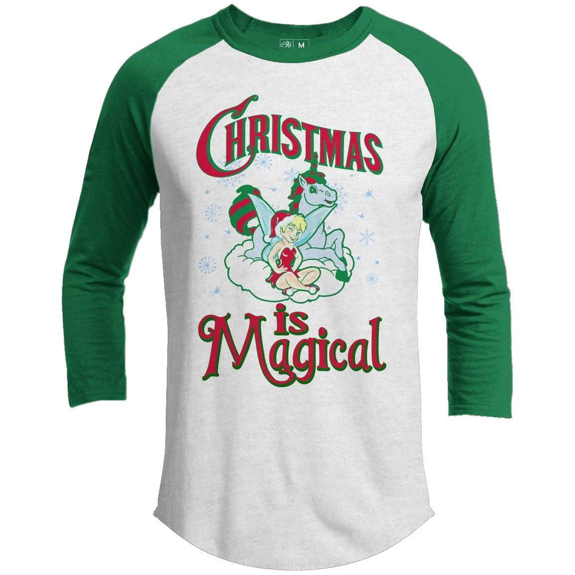 CHRISTMAS IS MAGICAL Premium Youth Christmas Raglan