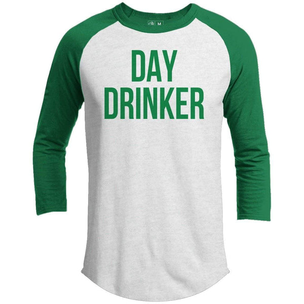 Day Drinker St. Patrick's Day Raglan