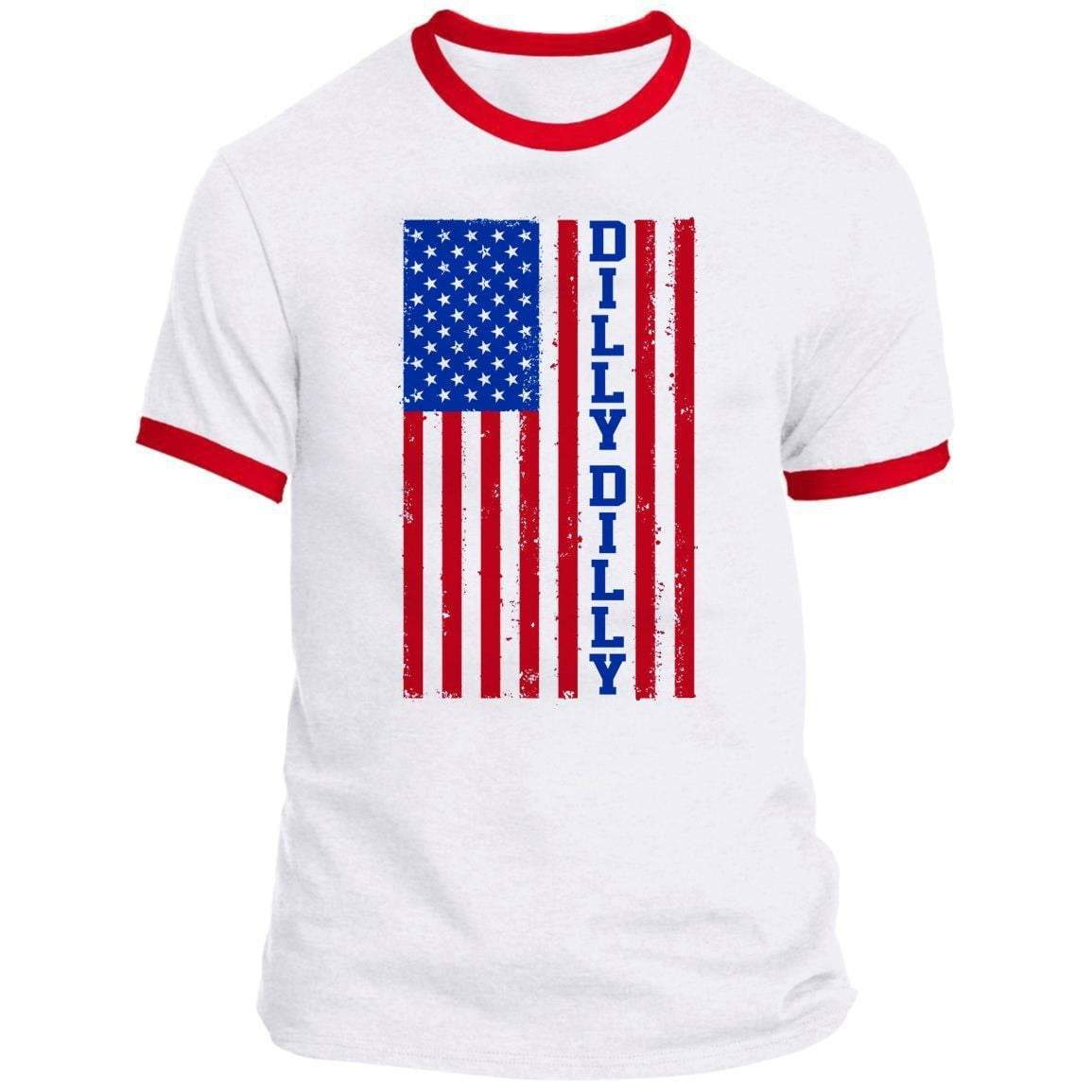 DILLY DILLY FLAG Ringer Tee
