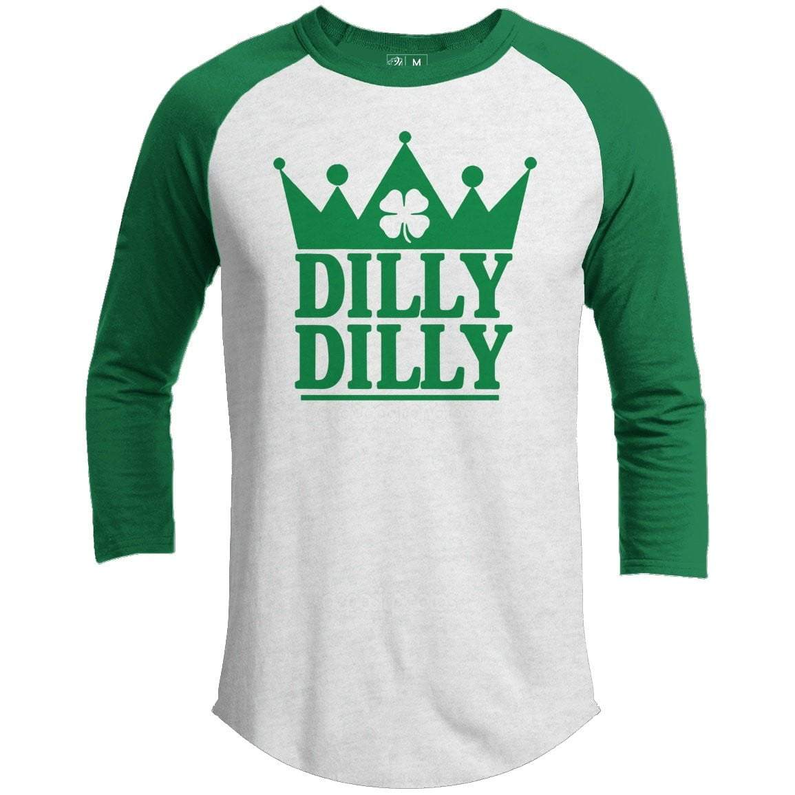 Dilly Dilly St. Patrick's Day Raglan