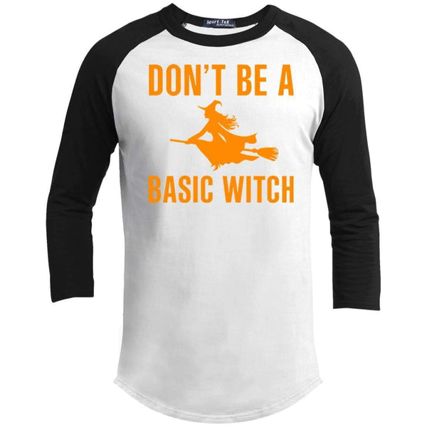 DON'T BE A BASIC WITCH Unisex 3/4 Sleeve Raglan