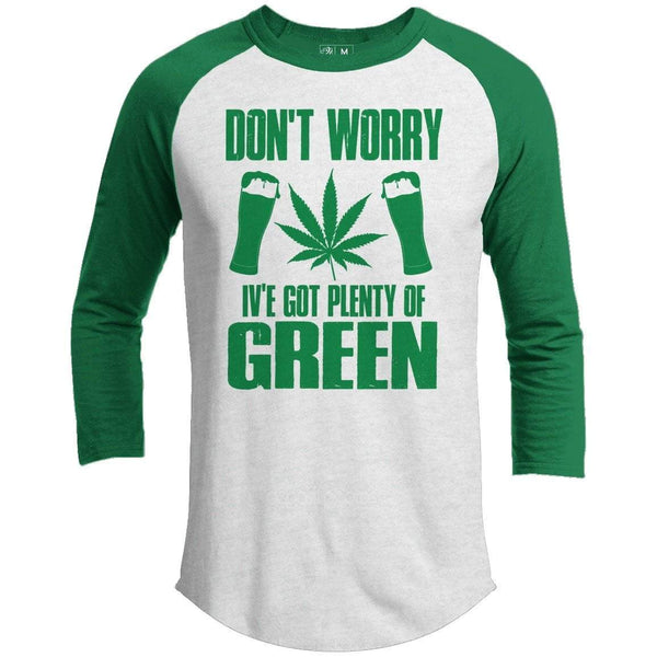 Don't Worry St. Patrick's Day Raglan