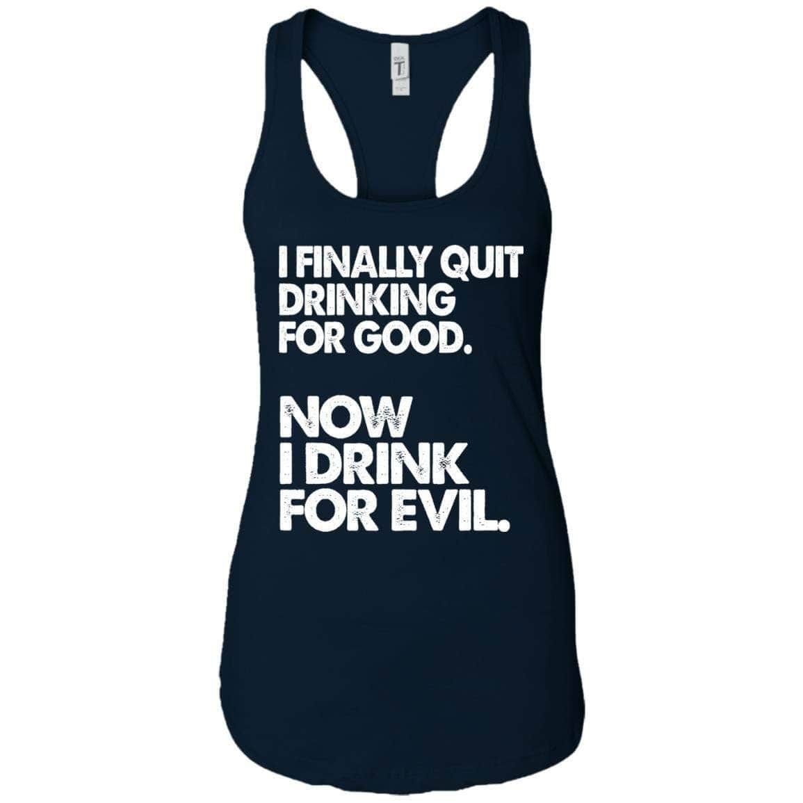 Drink For Evil Women's Racerback Tank