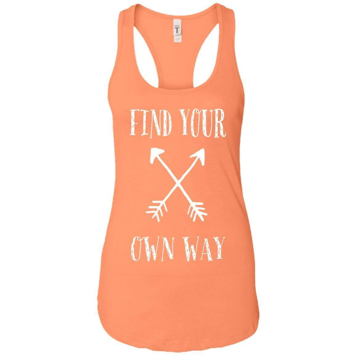 Find Your Own Way Women's Racerback Tank