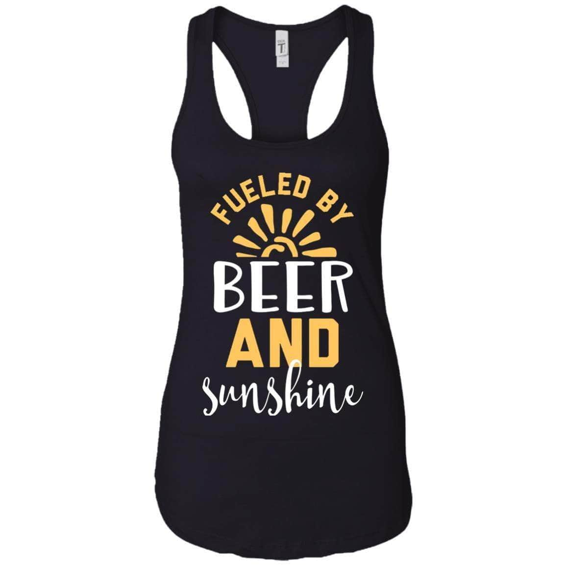 FUELED BY BEER WOMEN'S RACERBACK TANK
