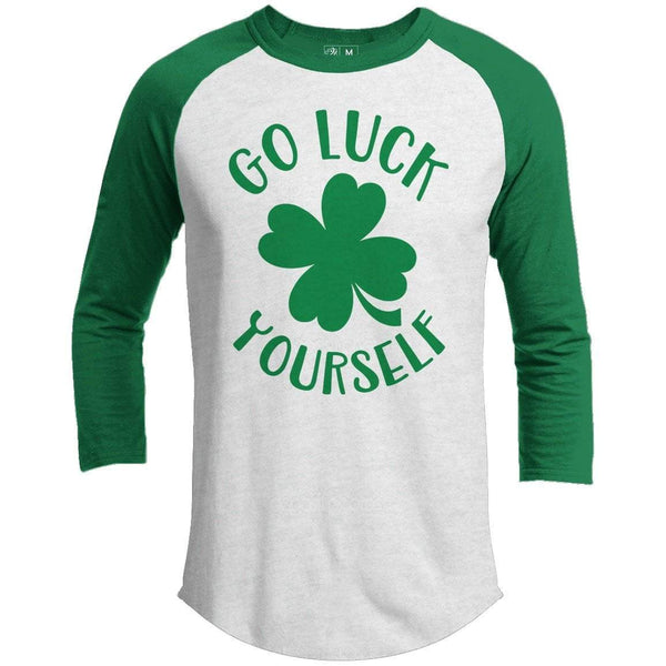 Go Luck Yourself St. Patrick's Day Raglan
