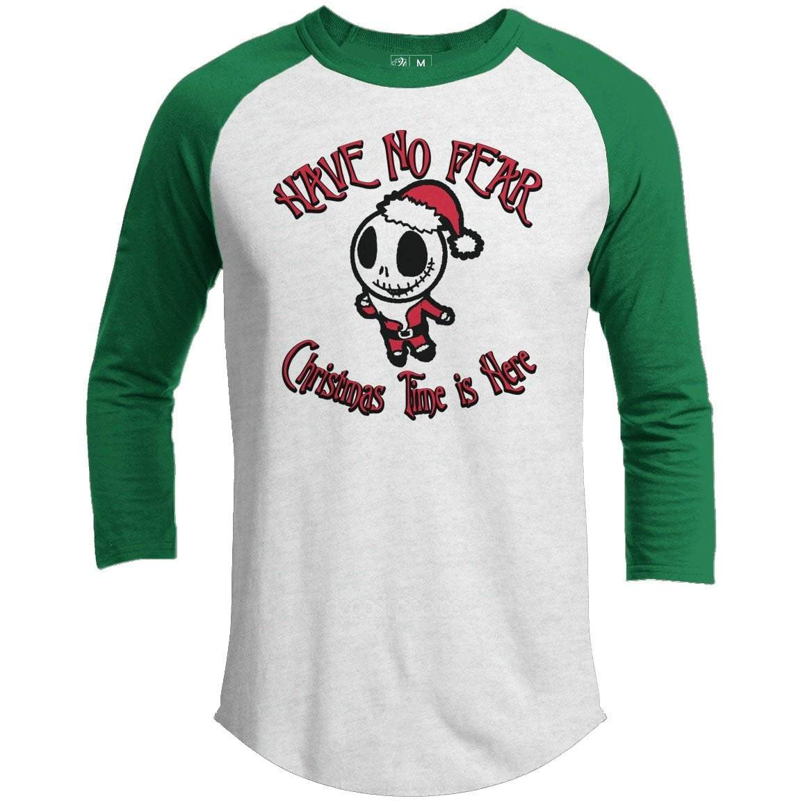 HAVE NO FEAR Premium Youth Christmas Raglan
