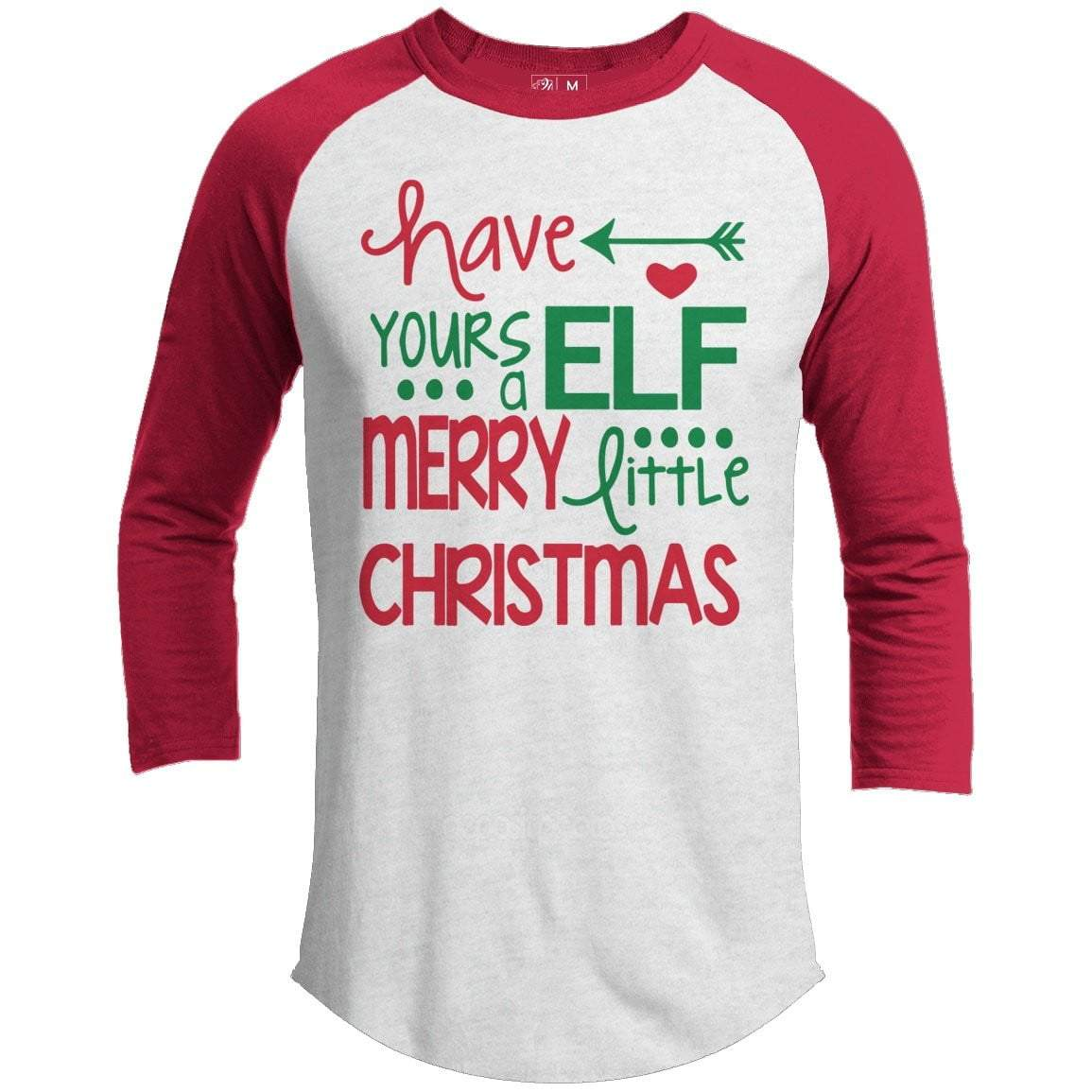 HAVE YOUR ELF Premium Youth Christmas Raglan