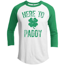 T-Shirts - Here To Paddy