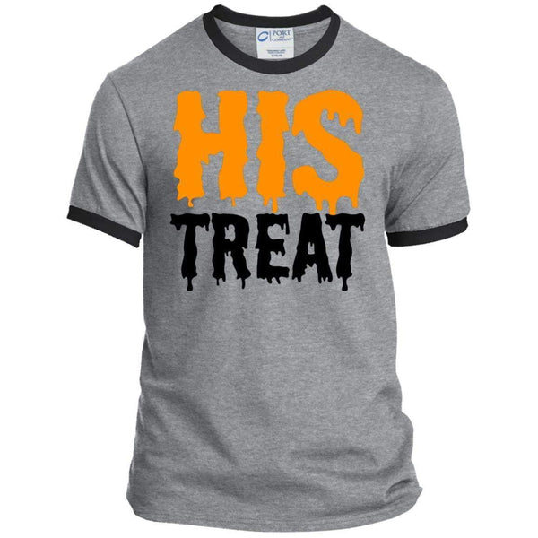 HIS TREAT Halloween Ringer Tee