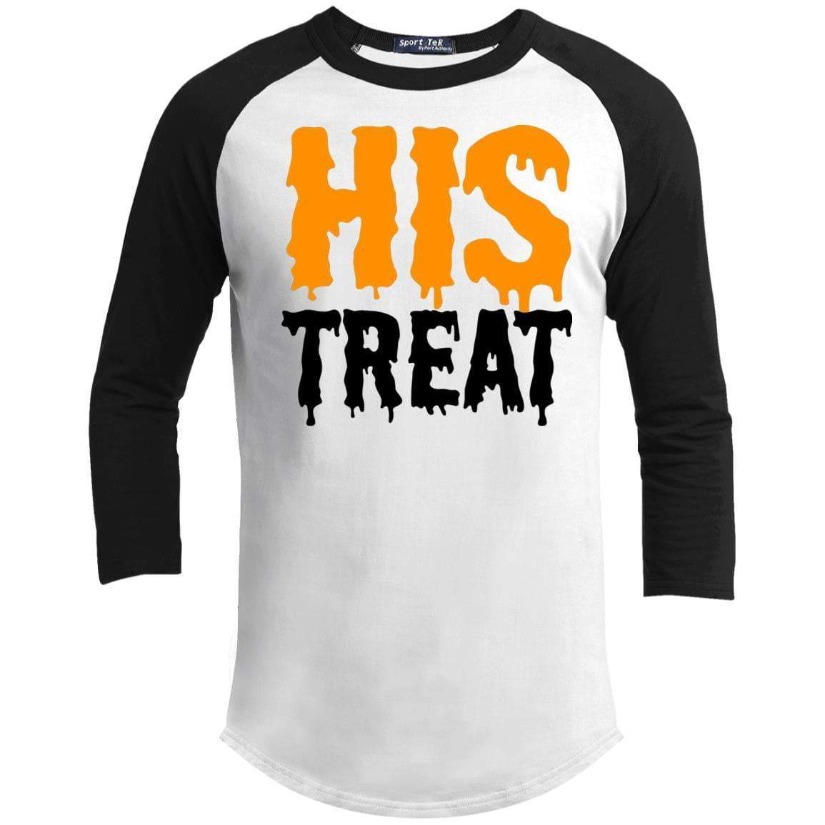 HIS TREAT Unisex 3/4 Sleeve Raglan