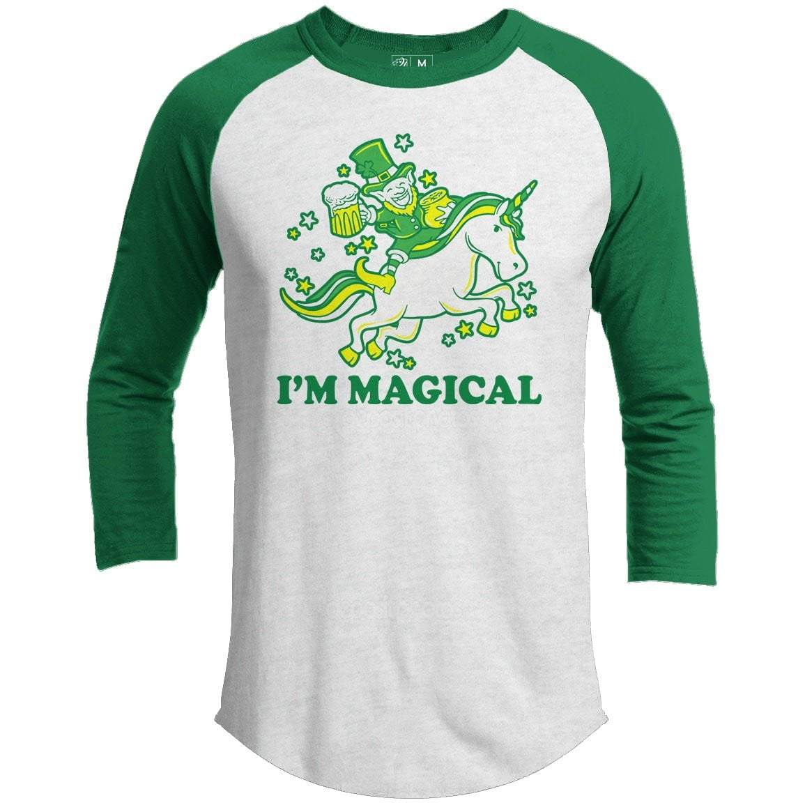 I'm Magical St. Patrick's Day Raglan