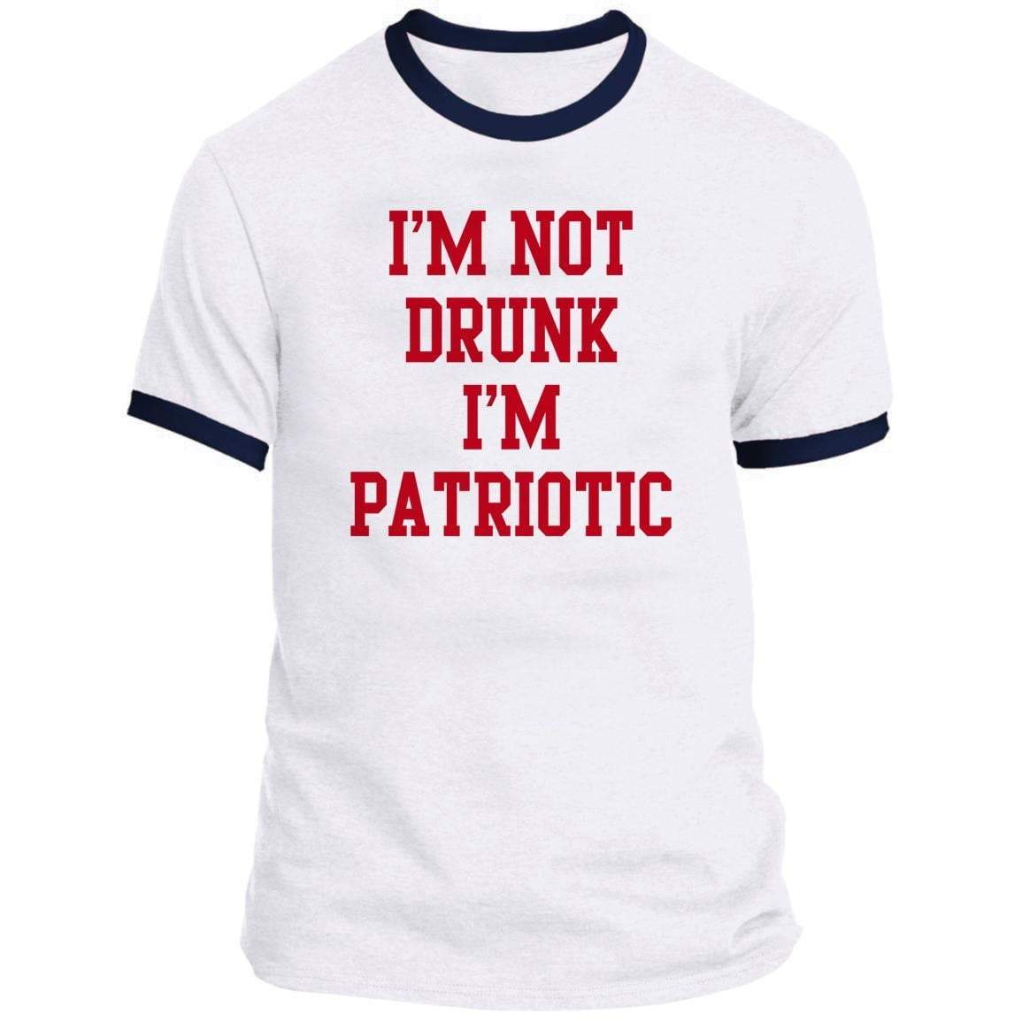 I'M NOT DRUNK Ringer Tee