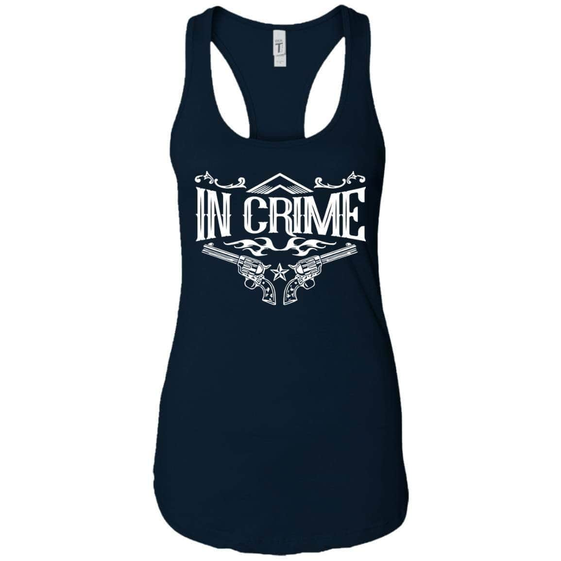 In Crime Women's Racerback Tank