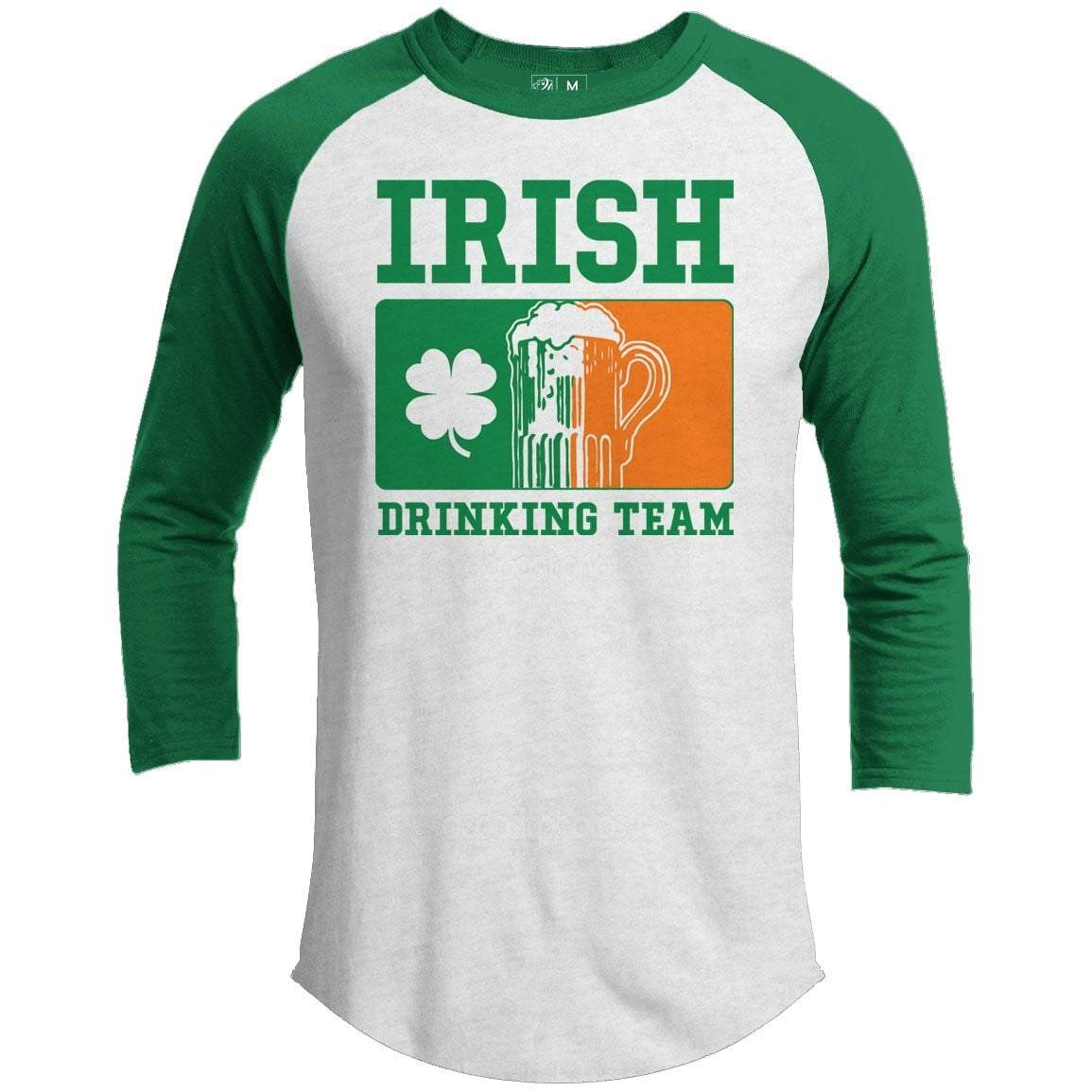 Irish Drinking Team St. Patrick's Day Raglan