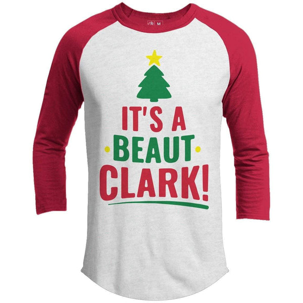 It's A Beaut Clark Premium Christmas Raglan