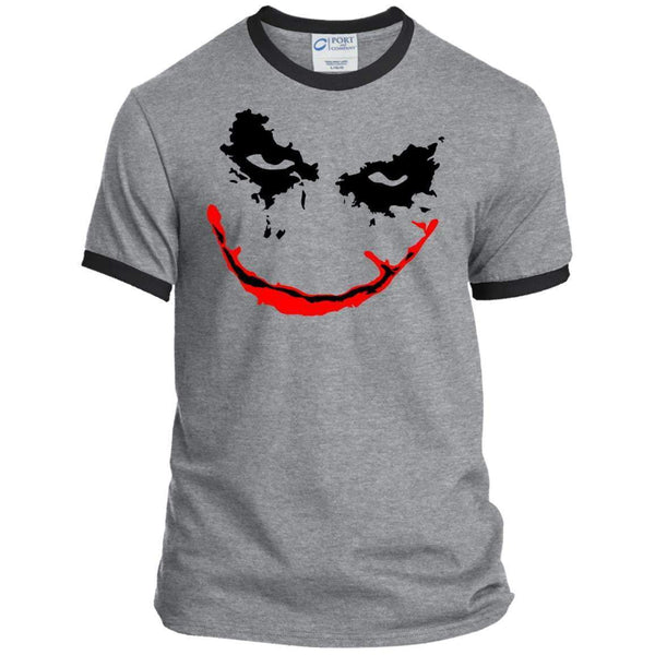 JOKER FACE Halloween Ringer Tee