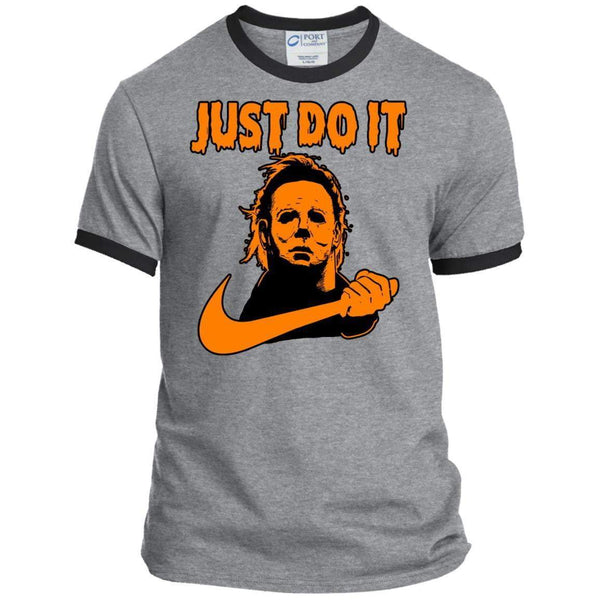 JUST DO IT Halloween Ringer Tee