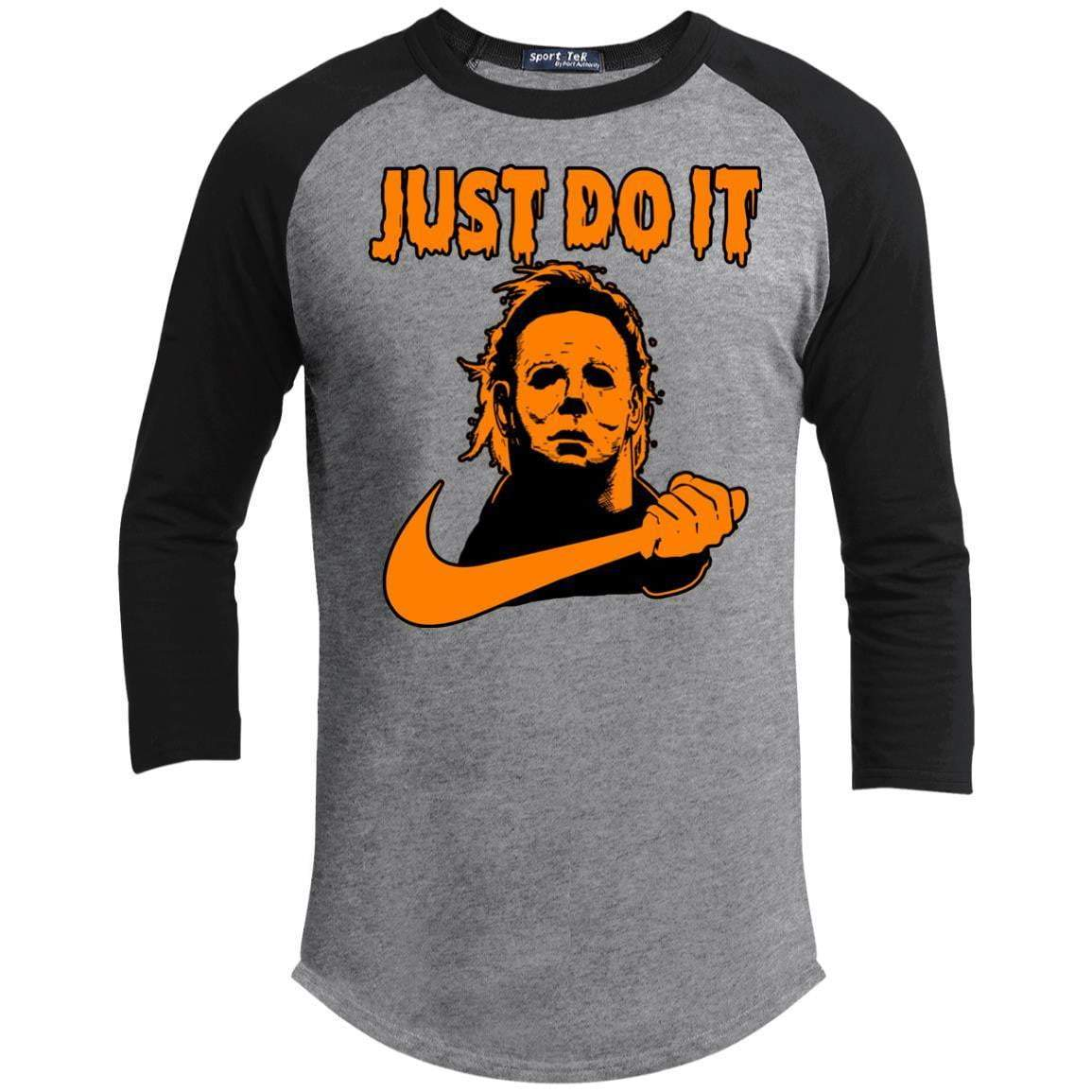 JUST DO IT Unisex 3/4 Sleeve Raglan