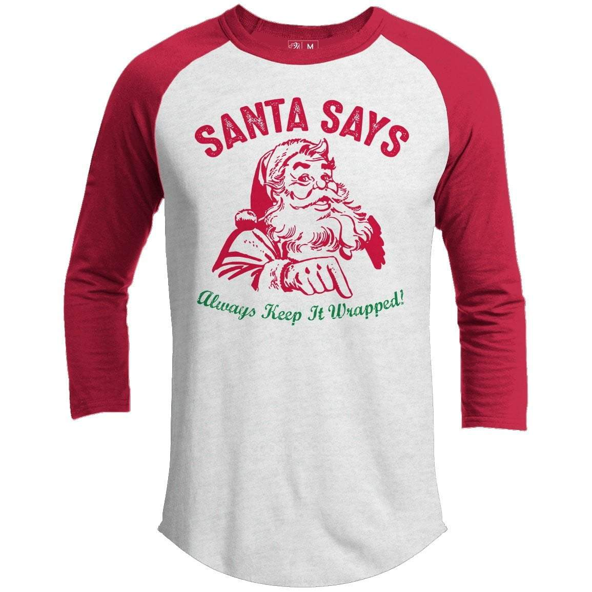 KEEP IT WRAPPED Premium Christmas Raglan