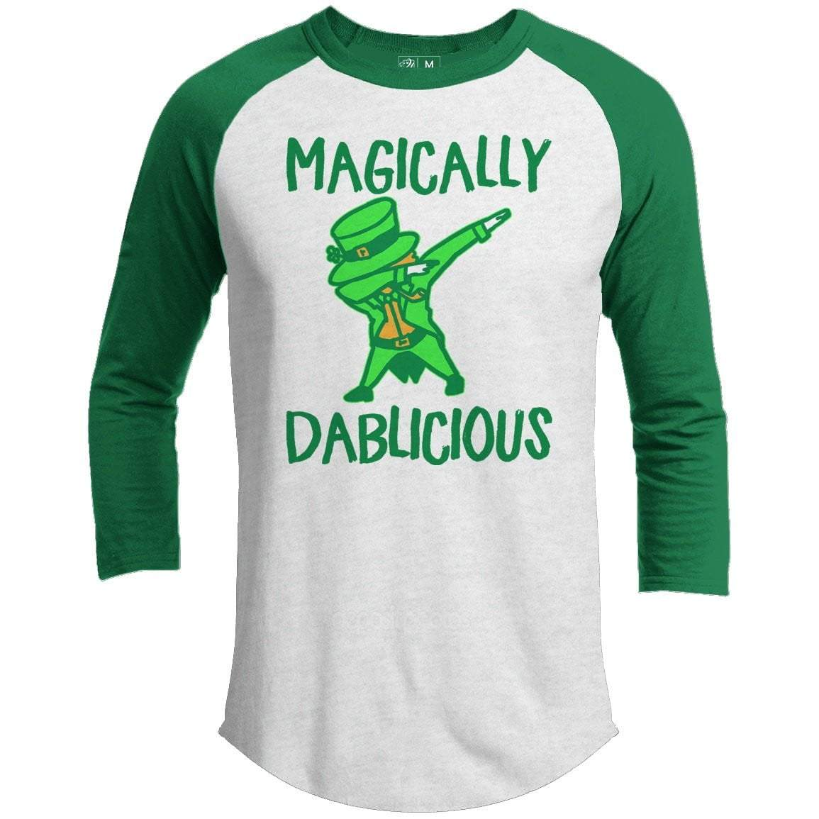 Magically Dablicious St. Patrick's Day Raglan
